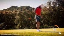 Gareth Bale joue au foot... Avec une balle de golf ! Du talent en toutes circonstances !