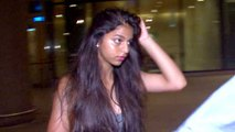 Shahrukh Khan's Daughter Suhana SPOTTED At Airport