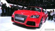En direct du salon de Genève 2012 - La vidéo de l'Audi TT RS+