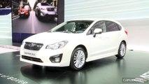 En direct du salon de Genève 2012 - La vidéo de la Subaru Impreza