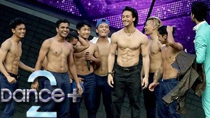 Tiger Shroff Shows His 6 PACK ABS On Dance Plus   A Flying Jatt Promotion