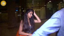 SHAHRUKH KHAN DAUGHTER SUHANA SPOTTED AT AIRPORT