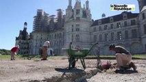 VIDEO (41) Des fouilles préventives jaillira le futur jardin à Chambord