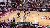 Minnesota Timberwolves vs San Antonio Spurs July 13, 2016 NBA Las Vegas Summer League 2016