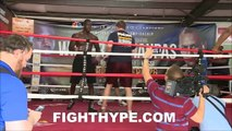 DEONTAY WILDER VS. CHRIS ARREOLA FULL FIGHT POST-FIGHT; WILDER BATTERS ARREOLA WITH BROKEN HAND