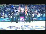 9 Year Old with AMAZING VOICE Sings National Anthem at NBA Game