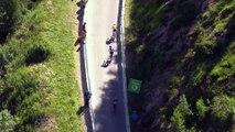 Attaque de Chris Froome - Étape 17 / Stage 17 (Berne / Finhaut-Emosson) - Tour de France 2016