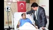 Vali Vasip Şahin Bağcılar'da Darbe Karşıtı Yaralıları Ziyaret Etti