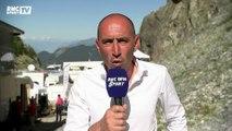 """Pineau : """"Encore une fois la défaillance du colombien Nairo Quintana"""""""