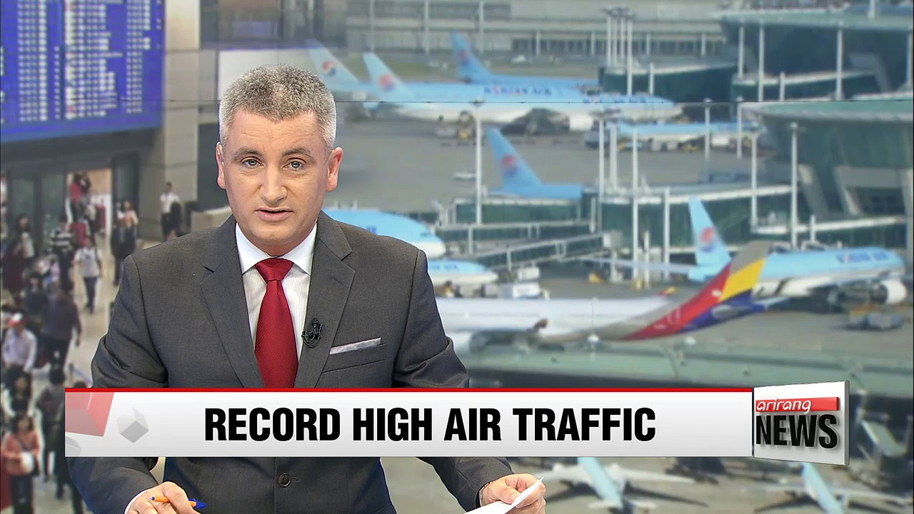 Korea's air traffic hits record high in H1