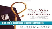 Read Books The Way of the Shepherd: 7 Ancient Secrets to Managing Productive People ebook textbooks