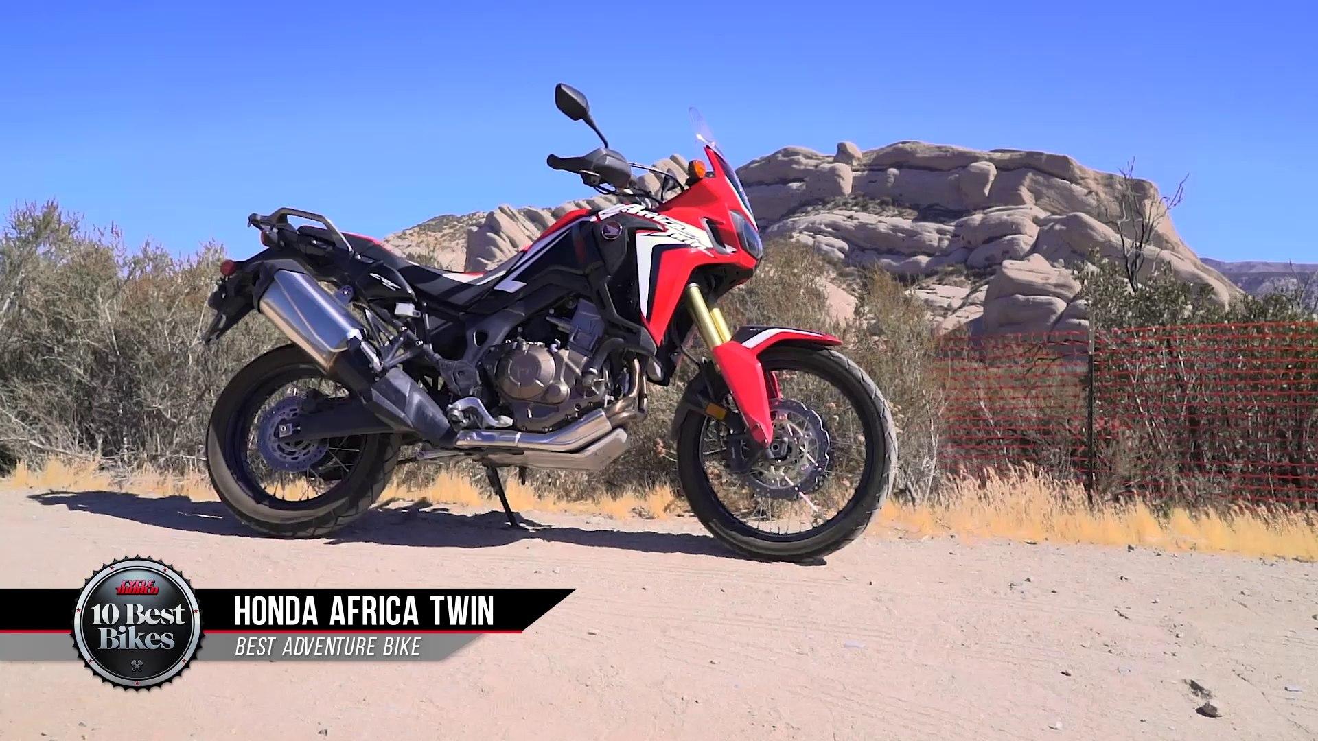 2016 Best Adventure Bike Honda Crf1000l Africa Twin