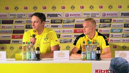Pressekonferenz mit Sebastian Rode Kitzbüheler Alpen 2016