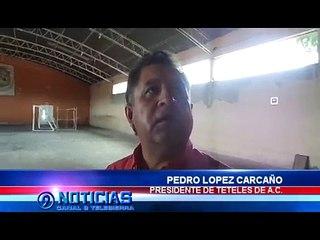 REHABILITAN AUDITORIO CENTRO DEPORTIVO Y RECREATIVO CARLOS BLANCO DE TETELES