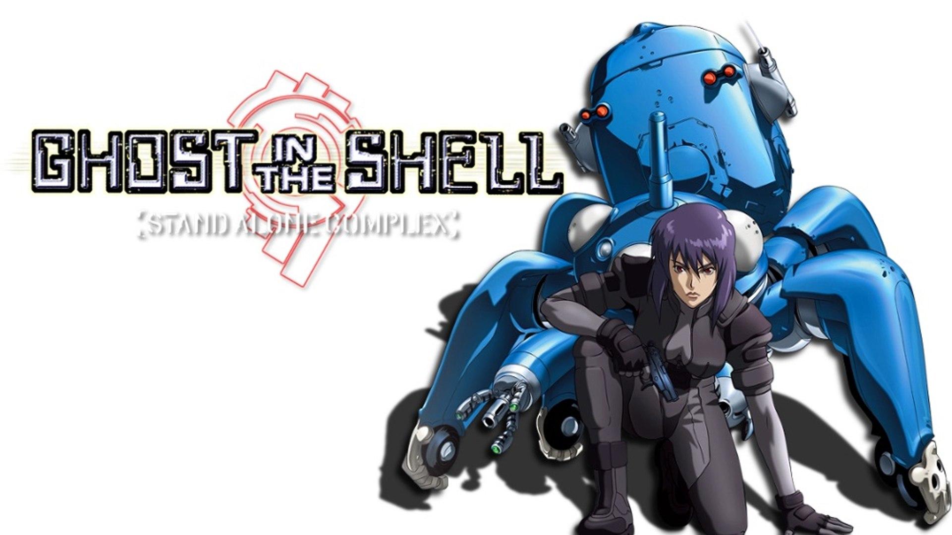 Ghost in the Shell: Stand Alone Complex 02 – Призрак в доспехах: Синдром одиночки 2 серия  [TREN & Esmeralda]