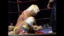 Tully Blanchard vs Barry Windham (NWA TV TItle July 18th, 1987)