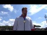 Men's shot put F42   Victory Ceremony   2016 IPC Athletics European Championships Grosseto