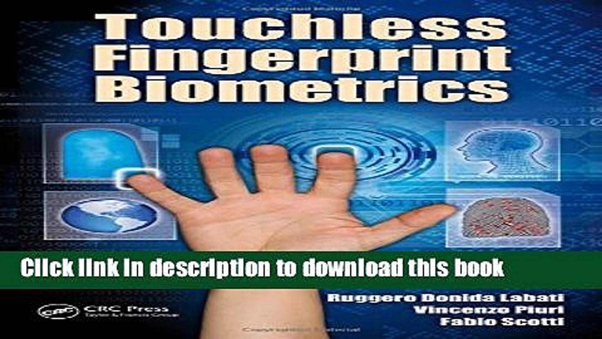 Download Touchless Fingerprint Biometrics PDF Free