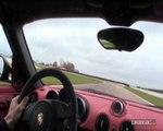 Un tour du circuit de la Ferté Gaucher avec Soheil Ayari à bord de la  Porsche Boxster Spyder
