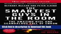 Download Books The Smartest Guys in the Room: The Amazing Rise and Scandalous Fall of Enron E-Book