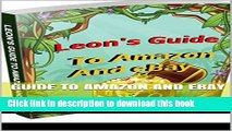 Download Guide To Amazon and Ebay: How to make money selling on Amazon   Ebay! PDF Online