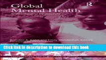 Download Global Mental Health: Anthropological Perspectives (Anthropology and Global Public