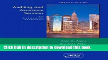 Read Books Auditing and Assurance Services (12th Edition) ebook textbooks