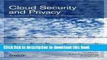 Read Cloud Security and Privacy: An Enterprise Perspective on Risks and Compliance PDF Free