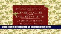Read Peace and Plenty: Finding Your Path to Financial Serenity  Ebook Free