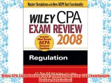 FREE DOWNLOAD Wiley CPA Exam Review 2008: Regulation (Wiley CPA Examination Review: Regulation)#