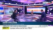 """Attentat de Nice : Didier Guillaume dénonce les """"procédés"""" de Libération autour de la polémique sur le dispositif de sécurité"""
