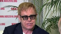 Sir Elton John urges world to continue fight to beat HIV