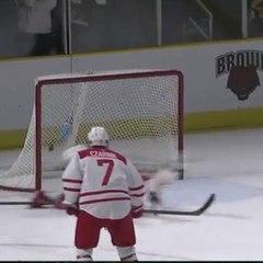 Incroyable sauvetage en hockey sur glace