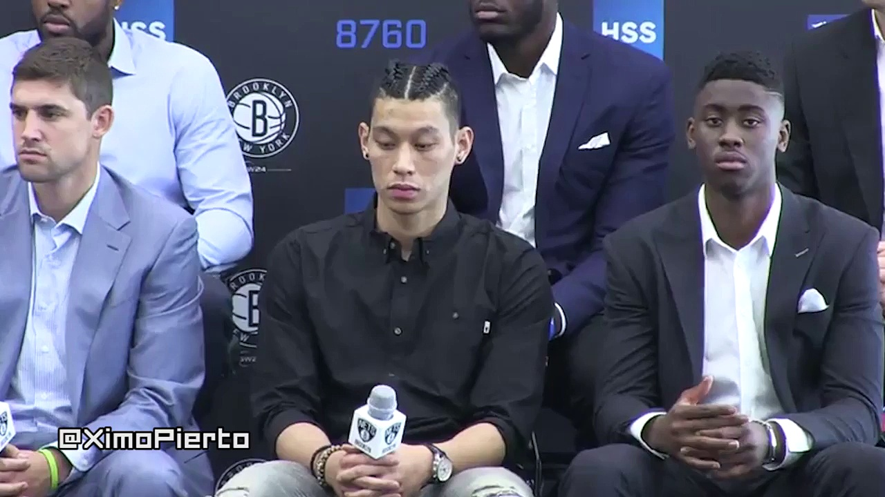 Jeremy Lin – Introductory Press Conference – Brooklyn Nets – 2016 NBA Free Agency