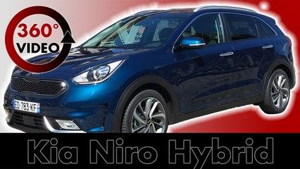 Drive 360°: Kia Niro 2017 | Hybrid | City of Hamburg | Test & Review