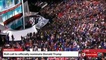 Donald Trump Wins Nomination! -Donald Trump Officially Nominated After Historic Vote at RNC(7-19-16)