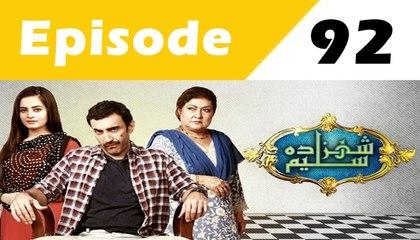 Shehzada Saleem Episode 92