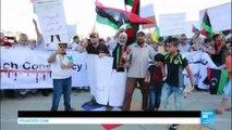 Drapeau français au sol, slogans hostiles : Manifestation à Tripoli contre la présence de militaires français en Libye