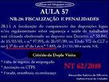Vídeo-Aula 57: NR 28 - Fiscalização e Penalidades