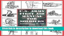 Download U.S. Army First Aid Manual for Soldiers Ebook Online