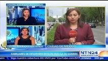 Familiares de desaparecidos en México inician huelga de hambre para exigir avances en investigaciones