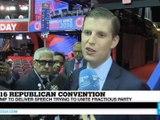 Republican Convention - Eric Trump: