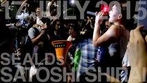 2015 7 17 白井聡スピーチ 字幕付き / SEALDs国会前抗議