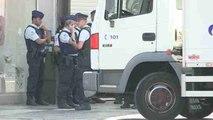 Detenido el sospechoso de llevar explosivos en Bruselas tras falsa alarma