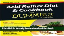[PDF]  Acid Reflux Diet and Cookbook For Dummies  [Read] Full Ebook