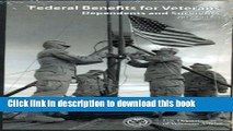 Read Federal Benefits for Veterans, Dependents, and Survivors 2012 (Federal Benefits for Veterans