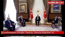 Cumhurbaşkanı Erdoğan, Yargıtay, Danıştay Başkanları ve Yargıtay Cumhuriyet Başsavcısı'yla Görüştü