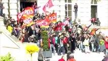 Occupation Mairie d'Amiens et évacuation policière violente (28 avril)