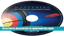Download Books Mastering the Fire Service Assessment Center - Audio Book PDF Online