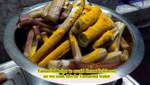 Yam stem with Hilsa Head | Kochusak_Ilish Muri | কচু শাক-ইলিশ মুড়ি ঘণ্ট